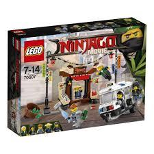 LEGO Ninjago Movie Ninjago City Chase 70607