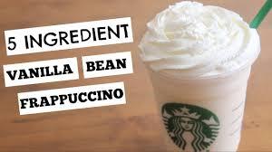 vanilla bean frappuccino sweettreats