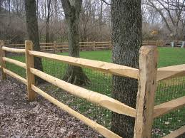 Locust Split Rail Fence Wood Fence Post And Rail Fence Fence Landscaping