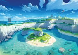 The Isle of Armor Art from Pokémon Sword and Shield #art #artwork ...