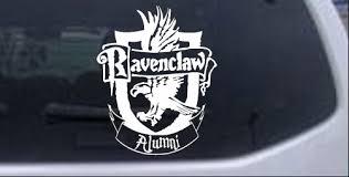 Harry Potter Ravenclaw Alumni Car Or Truck Window Decal Sticker Rad Dezigns