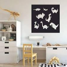 Dinosaur Silhouette Dino Wall Decal Sticker For Kids Room Walls Vinyl Home Decor Ebay