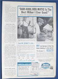 Original 1966 Dairy Equipment Ad Features Duane Schmidt, Kiwaunee,  Wisconsin   eBay