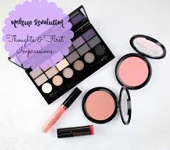 makeup revolution usa thoughts
