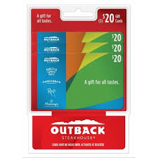 outback gift card balance gift cards