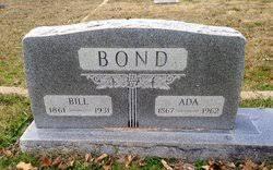 Bethana Ada Morgan Bond (1867-1962) - Find A Grave Memorial