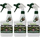 Amazon Com Liquid Fence 110 1 Quart Concentrate Deer Rabbit Repellent Rodent Repellents Garden Outdoor