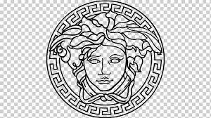 Versace Logo Karlie Kloss Versace Men Logo Versus Versace Logo Versace White Fashion Logo Png Klipartz