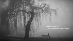 quotes bench lonely grayscale lakes x