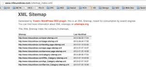 xml sitemap to google webmaster tools