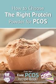 the right protein powder for pcos