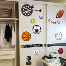 Diy Removable 3d Soccer Ball Football Wall Sticker Basketball Volleyball Decal Kids Room Decor Sport Boy Bedroom Wish