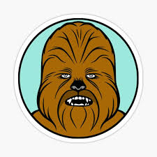 Wookie Stickers Redbubble