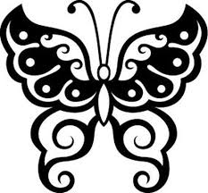 Insect Car Decals Car Stickers Butterfly Car Decal 02 Anydecals Com