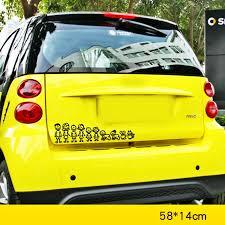 Aliauto My Family Member Cartoon Car Sticker Decal Decoration For Volkswagen Chevrolet Peugeot Honda Toyota Nissan Honda Renault Car Stickers Aliexpress
