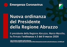 Emergenza coronavirus: il testo dell'ordinanza n. 3 firmata dal ...