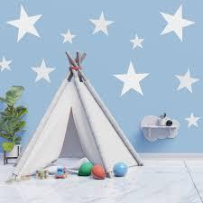 Star Shaped Stencil Wall Stencils For Childrens Kids Bed Room Nursery Bedroom Ebay