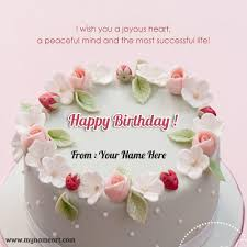 write your on birthday cake image for whatsapp send