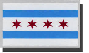 Buy Chicago Auto Decal Flagline