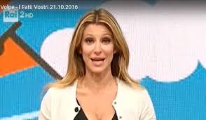 Adriana Volpe al Gf Vip dopo la lite con Giancarlo Magalli