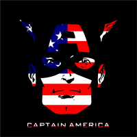 Captain America Decals And Stickers Any Size Color
