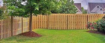 Semi Privacy Fences Wooden Fences Bartlesville Ok