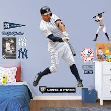New York Yankees Giancarlo Stanton Fathead 14 Pack Life Size Removable Wall Decal