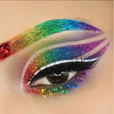 viral rainbow eyeshadow tutorial