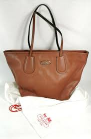 coach handbags large brown for