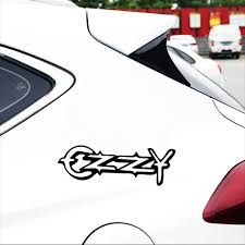 New Car Styling 15 5cm Ozzy Car Sticker And Decals Home Wall Window Door Vinyl Car Sticker For Auto Products Car Accessories Car Stickers Aliexpress