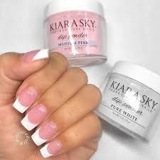 apply tip dip nail extensions at home