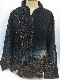 weaver rustic tapestry fall womens l xl