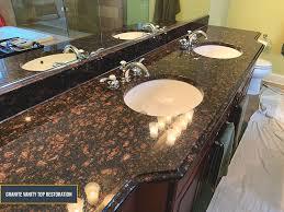 granite countertops restoration deep
