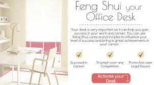 cures to feng shui your office desk
