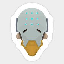 Zenyatta Minimalist Overwatch Sticker Teepublic