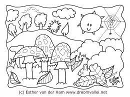 Kleurplaat De Droomvallei