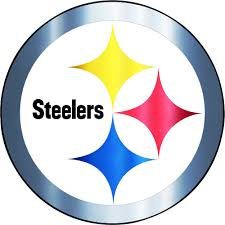 Metallic Pittsburgh Steelers Sticker 5 1 2in X 7 3 4in Party City