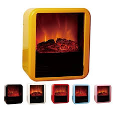 personal electric flame space heater