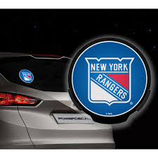 New York Rangers Nhl Power Decal
