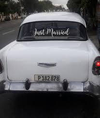 Just Married Car Decal The Paisley Box Wholesale