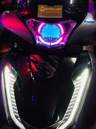 SH độ bi LED XLIGHT V10S vòng thiên thần... - Độ Đèn Xe Máy SOON ANH