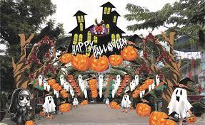 Lễ hội Halloween đầy màu sắc tại các khu vui chơi Thỏ Trắng - TTDN ...