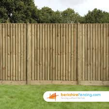 Close Board Fence Panels 3ft X 6ft Natural Berkshire Fencing