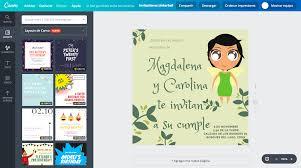 Disena Invitaciones De Tinkerbell Online Gratis Canva