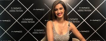 disha patani debuts m a c cosmetics s
