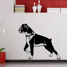 2018 Real Wall Sticker Pet Dog Silhouette Wall Decals Home Decor Nursery Bedroom Cute Stickers Vinyl Murals Art Diy Poster M402 Wall Stickers Aliexpress