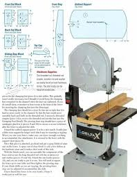 Pin By The Trace Turner On Band Saw Woodworking Projects Table Fence Planning Bandsaw