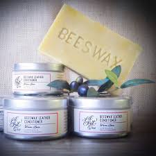 warm spice beeswax leather wood