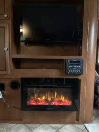 furrion rv electric fireplace with logs