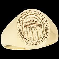 Longwood College Women S Signet Ring